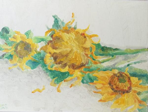 AMO Floarea Soarelui 45 x 55 cm 2017